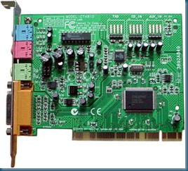 Creative SB128bit – Driver XP CT4810 + CT5580